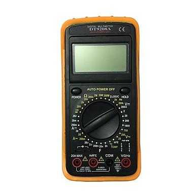 dt9208a.4 LCD يده رقمي متعدد باستخدام للمنزل والسيارة