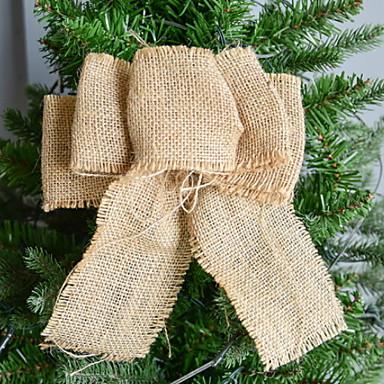 عيد الميلاد الحلي عطلة قماش مربع حداثة زينة عيد الميلاد
