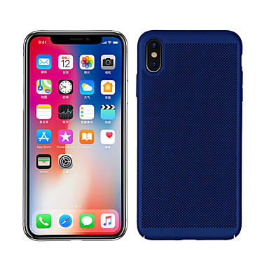 voordelige iPhone-hoesjes-hoesje Voor Apple iPhone XS / iPhone XR / iPhone XS Max Mat Achterkant Effen Hard PC
