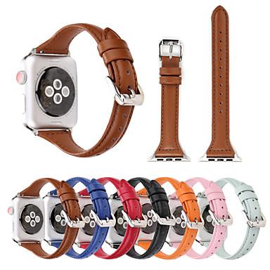 حزام إلى Apple Watch Series 4/3/2/1 Apple عقدة جلدية جلد طبيعي شريط المعصم