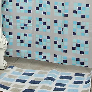 ستائر الدش الحديث PVC مصنوع بالماكينة ضد الماء / تصميم جديد حمام