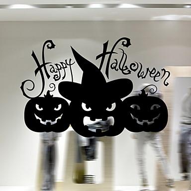 فيلم نافذة وملصقات زخرفة Halloween عطلة PVC كوول