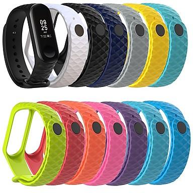 voordelige Smartwatch-accessoires-Horlogeband voor MiBand Xiaomi Sportband Rubber Polsband
