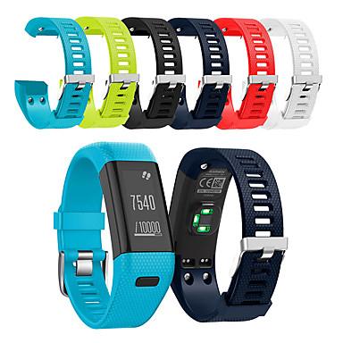 voordelige Smartwatch-accessoires-Horlogeband voor Vivosmart HR+(Plus) Garmin Sportband Silicone Polsband