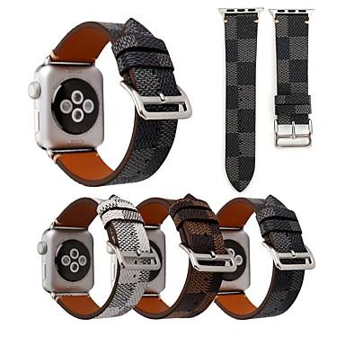 Ver Banda para Apple Watch Series 4/3/2/1 Apple Correa de Cuero Cuero Auténtico Correa de Muñeca