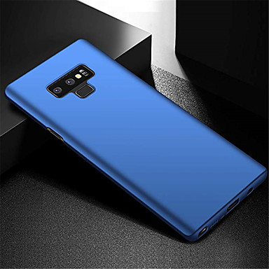 voordelige Galaxy Note-serie hoesjes / covers-hoesje Voor Samsung Galaxy Note 9 Ultradun Achterkant Effen Hard PC