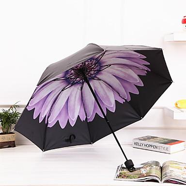 ستانلس ستيل الجميع مشمس وممطر / جميل مظلة ملطية