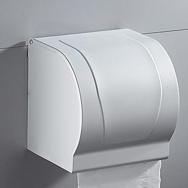 حاملة ورق التواليت تصميم جديد / كوول الحديث الالومنيوم 1PC حمالة ورق تواليت مثبت على الحائط