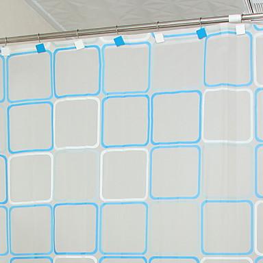 ستائر الدش الحديث PVC مصنوع بالماكينة جميل / تصميم جديد حمام