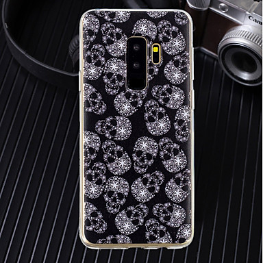 غطاء من أجل Samsung Galaxy S9 / S9 Plus / S8 Plus نحيف جداً / شفاف / نموذج غطاء خلفي جماجم ناعم TPU