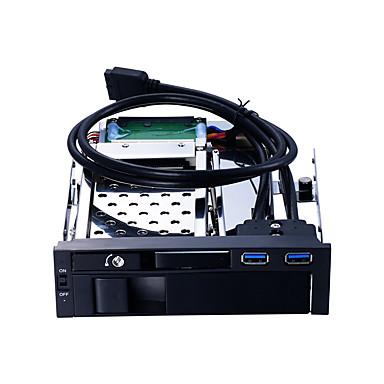 Unestech USB 3.0 إلى ساتا 3.0 القرص الصلب حملة محول صينية والتوصيل والتشغيل / الحالات مع الصمام الخفيفة / متعددة الوظائف / عرض ساخن 8000 GB ST7223U