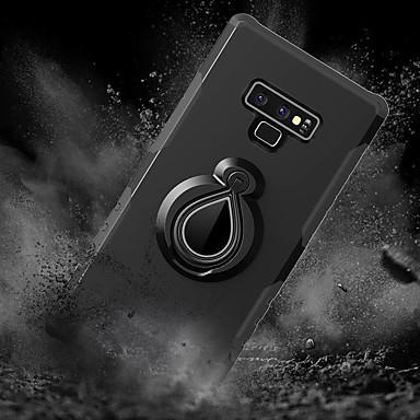 voordelige Galaxy Note-serie hoesjes / covers-hoesje Voor Samsung Galaxy Note 9 / Note 8 Schokbestendig / met standaard / Ringhouder Achterkant Tegel / Schild Hard PC