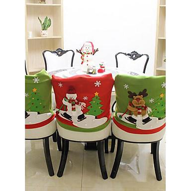 عطلة زينة ديكور عيد الميلاد المجيد عيد الميلاد الحلي إبداعي / ديكور أخضر 1PC