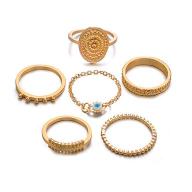 cheap Rings-Women's Retro Knuckle Ring Ring Set Multi Finger Ring