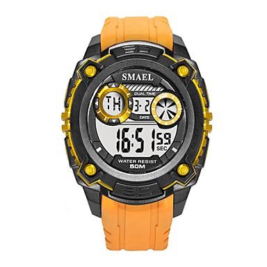 Χαμηλού Κόστους Ανδρικά ρολόγια-Ανδρικά Αθλητικό Ρολόι Ψηφιακό ρολόι Ψηφιακό Συνθετικό δέρμα με επένδυση Μαύρο / Κόκκινο / Πορτοκαλί Ημερολόγιο Νυχτερινή λάμψη Ψηφιακό Καθημερινό - Πράσινο Μαύρο / Μπλε Μαύρο / Χρυσό Τριανταφυλλί