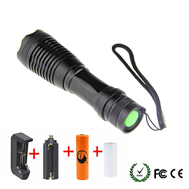 1800/2000/2200 lm LED Fenerler LED 5 Kip - UltraFire Zoomable