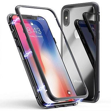 Cooho Case For Le Iphone X 7 Plus Shockproof Dustproof Transpa Back Cover Solid Colored Hard Tempered Gl Pc 8
