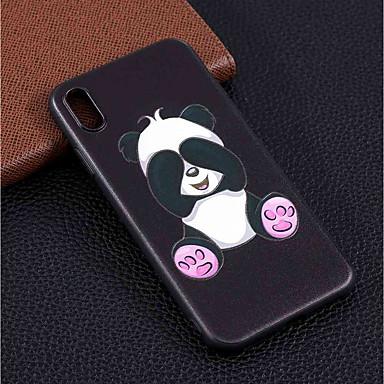 Maska Pentru Apple iPhone XS / iPhone XR / iPhone XS Max Model Capac Spate Panda Moale TPU