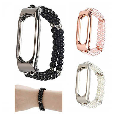 voordelige Smartwatch-accessoires-Horlogeband voor Mi Band 2 Xiaomi Sieradenontwerp Keramiek Polsband