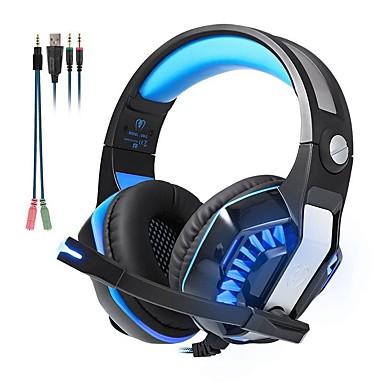 voordelige Gaming-oordopjes-KOTION EACH GM-2 Gaming Headset Bekabeld Gaming met microfoon