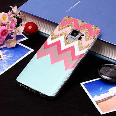 Недорогие Чехлы и кейсы для Galaxy S6 Edge-Кейс для Назначение SSamsung Galaxy S9 / S9 Plus / S8 Plus IMD / С узором Кейс на заднюю панель Полосы / волосы Мягкий ТПУ