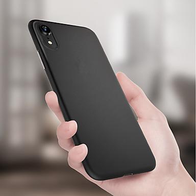Apple iphone xr xs xs max ultra-ince / buzlu arka kapak için katı renkli yumuşak tpu iphone x 8 8 artı 7 7 artı 6 s 6 s artı se 5 5 s