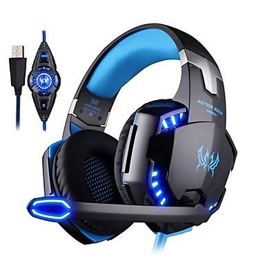 voordelige Gaming-oordopjes-KOTION EACH G2200 Gaming Headset Bekabeld Gaming met microfoon