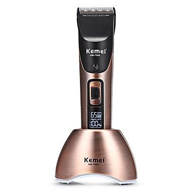 Kemei Trimmer per capelli per Uomini e donne 110-240 V Silenzioso / Disegno a mano / Luce e comodo