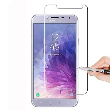 Näytönsuojat varten Samsung Galaxy J4 Karkaistu lasi 1 kpl Näytönsuoja Teräväpiirto (HD) / 9H kovuus / 2,5D pyöristetty kulma