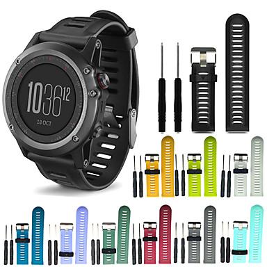 voordelige Smartwatch-accessoires-Horlogeband voor Fenix 5x Plus / Fenix 3 HR Garmin Sportband Silicone Polsband
