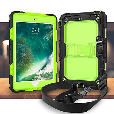 Cooho Case For Apple iPad Air 2 / iPad (2017) Shockproof / Dustproof / Water Resistant Full Body Cases Armor Hard Silicone / PC for iPad Mini 3/2/1 / iPad Mini 4 / iPad Pro 10.5