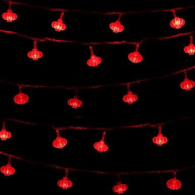 3 M Łańcuchy świetlne 20 Diody LED Czerwony Dekoracyjna 220-240 V 1 zestaw