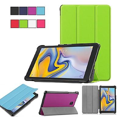 voordelige Samsung Tab-serie hoesjes / covers-hoes voor Samsung Galaxy tab e 8.0 / tab s2 8.0 origami / ultradun / met standaard bodyhoes effen gekleurde hard pu-leer voor tab een 7.0 (2016) / tab a 8.0 (2017) / tab a 8.0