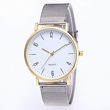 1580eefeb رخيصةأون ساعات النساء-نسائي ساعة المعصم كوارتز ستانلس ستيل فضة الكرونوغراف  جميل ساعة كاجوال مماثل
