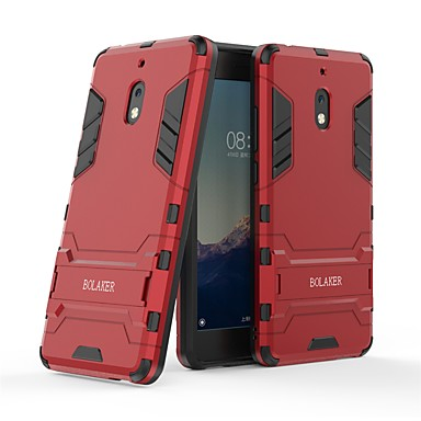 halpa Nokia kotelot / kuoret-Etui Käyttötarkoitus Nokia Nokia 2.1 Iskunkestävä / Tuella Takakuori Yhtenäinen Kova PC varten Nokia 2.1