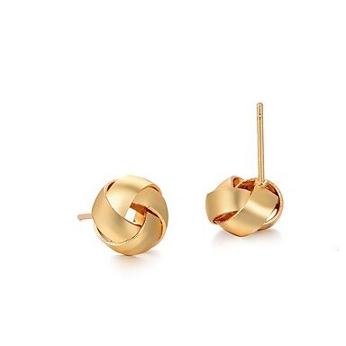 c922eee92dd8 Women's Stud Earrings Classic Ladies Simple Classic Boho Earrings Jewelry  Yellow For Party Gift 1 Pair