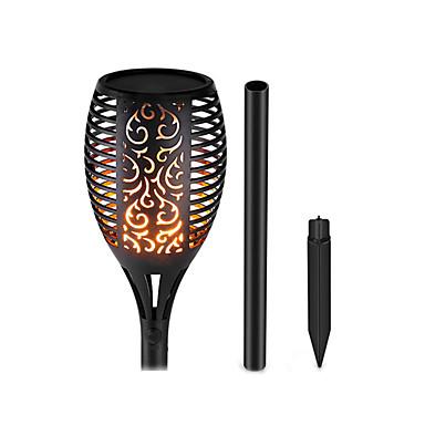 economico Luci per esterni-1pc 5 W Luci da prato Impermeabile / Decorativo / Fantastico Giallo caldo Luci per esterni / Cortile / Giardino Perline LED