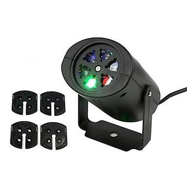 Ywxlight moving christmas lights laser lampe de projecteur de neige flocon de neige led parti for Projecteur laser multicolore
