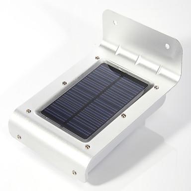 1 adet 16led güneş enerjisi pir motion sensörü güvenlik duvar lambası lambası açık bahçe