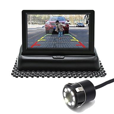 billige Bil Bakspejl Kamera-Ziqiao bil bagfra vende visuelle monitor system