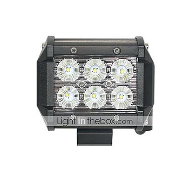Becuri 18W 1260lm 6 LED Bec Muncă / 6000 / Mare
