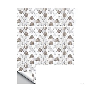 Koriste-seinätarrat - 3D-seinätarrat Abstrakti / Muodot Kylpyhuone / Keittiö