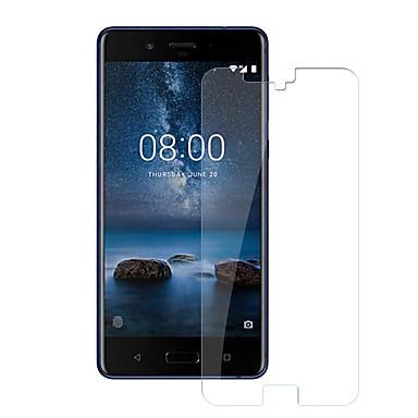billige Skærmbeskyttelse til Nokia-Skærmbeskytter for Nokia Nokia 8 Hærdet Glas 1 stk Skærmbeskyttelse 9H hårdhed / Ridsnings-Sikker