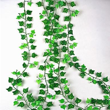 billige Hjemme Indretning-Kunstige blomster 1 Afdeling Vægmonteret Suspenderet Bryllup pastorale stil Planter Vægblomst
