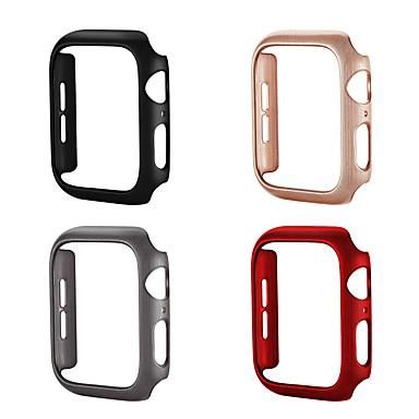 Недорогие Кейсы для Apple Watch-Кейс для Назначение Apple Apple Watch Series 4 / Apple Watch Series 4/3/2/1 / Apple Watch Series 3 пластик Apple