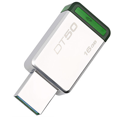 economico Chiavette USB-Kingston 16GB chiavetta USB disco usb USB 3.1 Metallo Irregolare Senza tappo