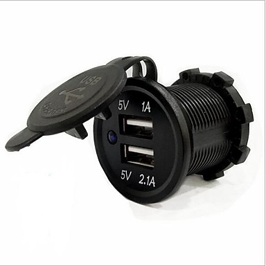 LOSSMANN Cars / Truck / Motorcycle Car Charger 2 USB Ports for 5 V / water-resistant / UV Resistant / Outdoor / hot / SUV