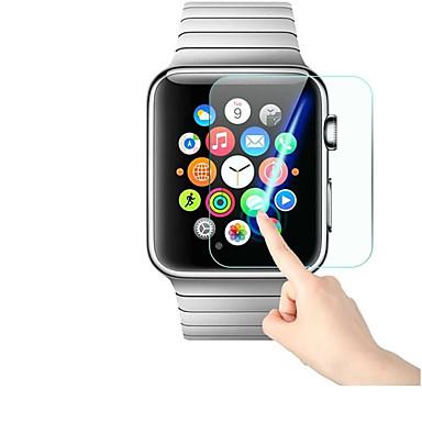 Недорогие Защитные пленки для Apple Watch-Защитная плёнка для экрана Назначение iWatch 42мм / iWatch 38мм / Apple Watch Series 4 Закаленное стекло Уровень защиты 9H / 2.5D закругленные углы / Взрывозащищенный 1 ед.