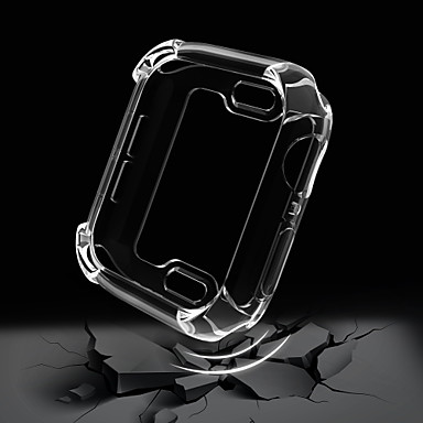 Недорогие Кейсы для Apple Watch-Кейс для Назначение Apple Apple Watch Series 4/3/2/1 пластик Apple