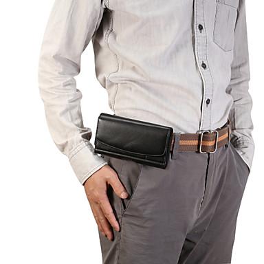 voordelige Universele hoesjes & tasjes-hoesje Voor Blackberry / Apple / Samsung Galaxy Universeel SportArmband / Kaarthouder Heuptassen / Buideltas Effen Zacht PU-nahka